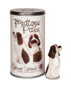 "Springer Spaniel by My Pedigree Pals - 4.5"" Dog  Figurine/Coin Bank"