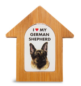 "German Shepherd by Waggy Dogz - 3.5"" Self-Standing Magnet"