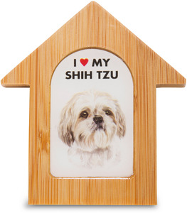 "Shih Tzu by Waggy Dogz - 3.5"" Self-Standing Magnet"
