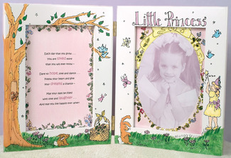 "Little Princess by Cute as a Button - 7""x9"" Photo Frame"