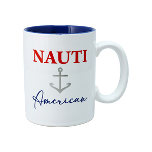 Nauti by Red, White, & Blue Crew - 18 oz Mug