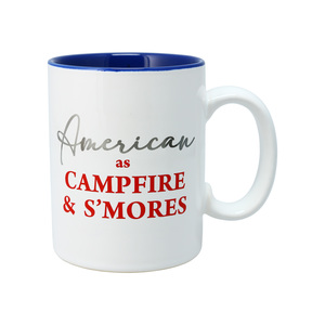 Campfire by Red, White, & Blue Crew - 18 oz Mug