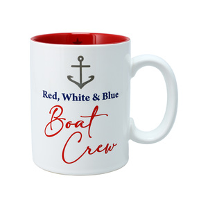 Boat Crew by Red, White, & Blue Crew - 18 oz Mug