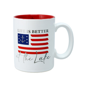 Lake by Red, White, & Blue Crew - 18 oz Mug