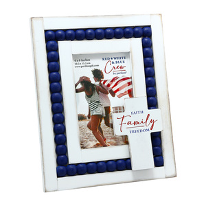 "Family by Red, White, & Blue Crew - 7.75"" x 10"" Frame (Holds a 4"" x 6"" Photo)"