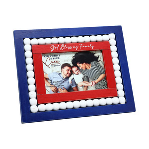 "God Bless by Red, White, & Blue Crew - 10"" x 7.75"" Frame (Holds a 6"" x 4"" Photo)"
