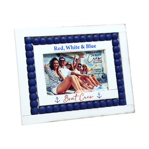 "Boat Crew by Red, White, & Blue Crew - 10"" x 7.75"" Frame (Holds a 6"" x 4"" Photo)"
