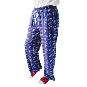 America Strong by Red, White, & Blue Crew - S Navy Unisex Lounge Pants