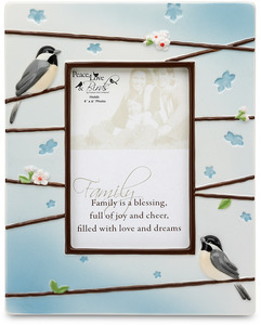 "Family by Peace Love & Birds - 8"" x 10"" Picture Frame"