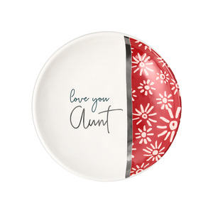 "Aunt by Rosy Heart - 4"" Dish"