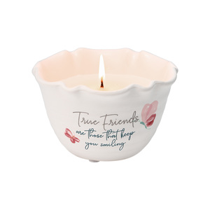 True Friends by Rosy Heart - 9 oz - 100% Soy Wax Candle Scent: Tranquility