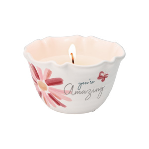 Amazing by Rosy Heart - 9 oz - 100% Soy Wax Candle Scent: Tranquility