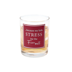 Stress by A-Parent-ly - 11 oz Rocks Glass