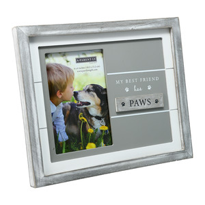 "Pet by A-Parent-ly - 9.75"" x 8.25"" Frame (Holds 4"" x 6"" Photo)"