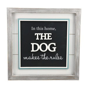 "The Dog by A-Parent-ly - 12"" Plaque"