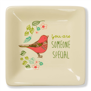 "Someone Special by A Mother's Love by Amylee Weeks - 4.5"" Ceramic Keepsake Dish"