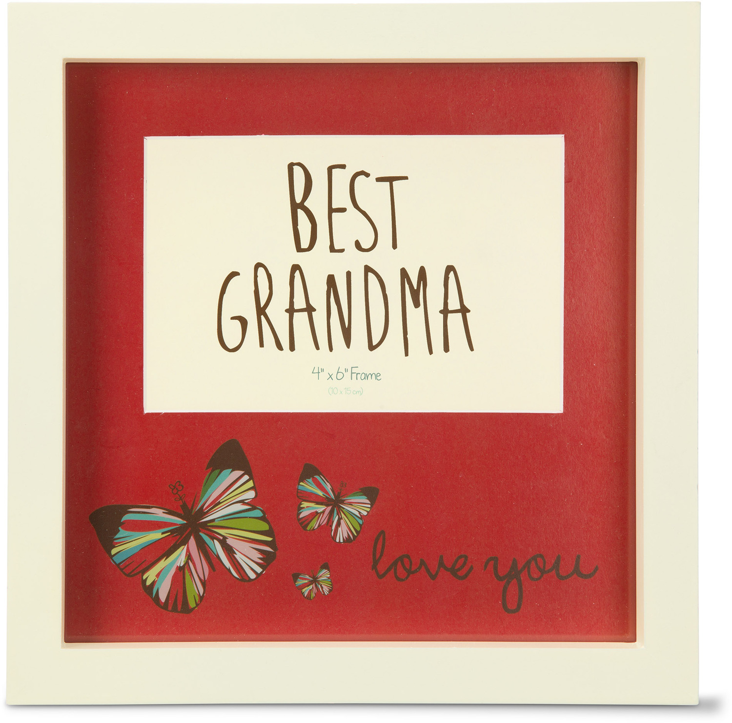 "Best Grandma by A Mother's Love by Amylee Weeks - Best Grandma - 9"" x 9"" Frame"