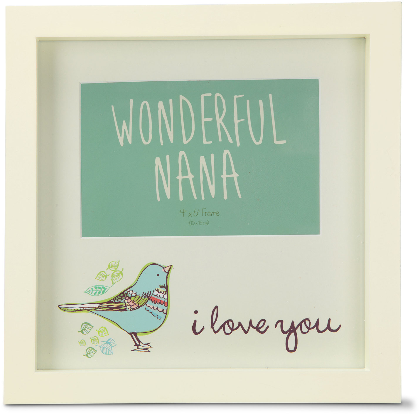 "Wonderful Nana by A Mother's Love by Amylee Weeks - Wonderful Nana - 9"" x 9"" Frame"