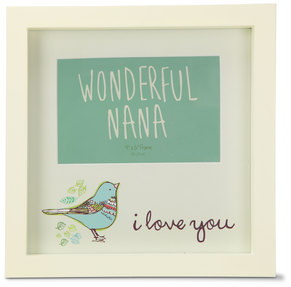 "Wonderful Nana by A Mother's Love by Amylee Weeks - 9"" x 9"" Frame"