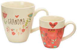 Grandma & Me by A Mother's Love by Amylee Weeks - 12oz & 4oz Cup Set