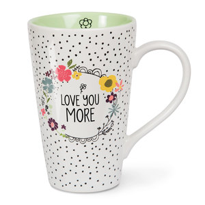 Love You More by Love You More - 18 oz Latte Cup