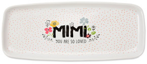 "Mimi by Love You More - 11"" x 4.5"" Tray"