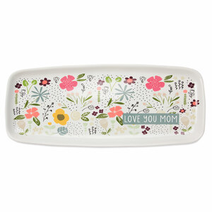 "Mom by Love You More - 11"" x 4.5"" Tray"