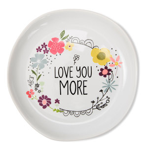 "Love You More by Love You More - 4.5"" Keepsake Dish"