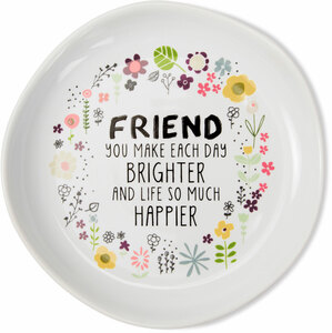"Friend by Love You More - 4.5"" Keepsake Dish"