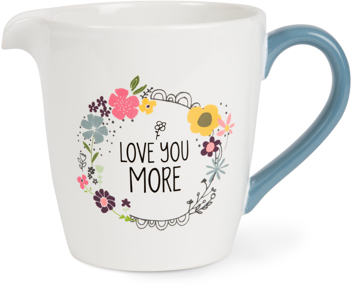 Love You More by Love You More - Love You More - 1 Quart Ceramic Measuring Bowl