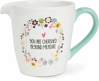 Beyond Measure by Love You More - 1 Quart Ceramic Measuring Bowl