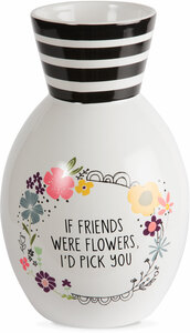 "Friend by Love You More - 6.5"" Ceramic Vase"