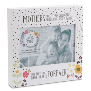 "Mother by Love You More - 7"" Frame (Holds 6"" x 4"" Photo)"