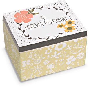 Friend by Love You More - 2.25 x 2 x 1.5 MDF Trinket  Box
