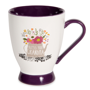 Grandma by Bless My Bloomers - 18 oz Cup