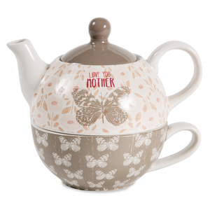 Mother by Bless My Bloomers - 15oz Teapot & 8oz Cup