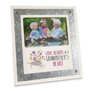 "Grandmother by Bless My Bloomers - 8.25"" x  9"" Frame (Holds 4""  x6"" Photo)"