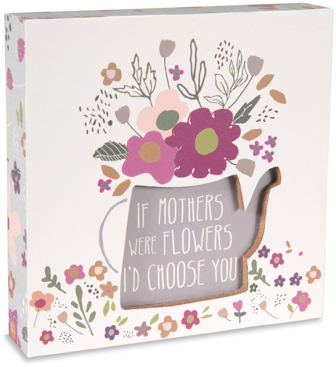 "Mother by Bless My Bloomers - Mother - 5"" x 5"" Plaque"