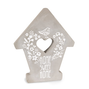 "Home by Bless My Bloomers - 7.5"" Cement Stepping Stone"