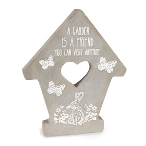"Friend by Bless My Bloomers - 7.5"" Cement Stepping Stone"
