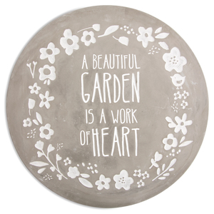 "Garden by Bless My Bloomers - 10"" Cement Stepping Stone"