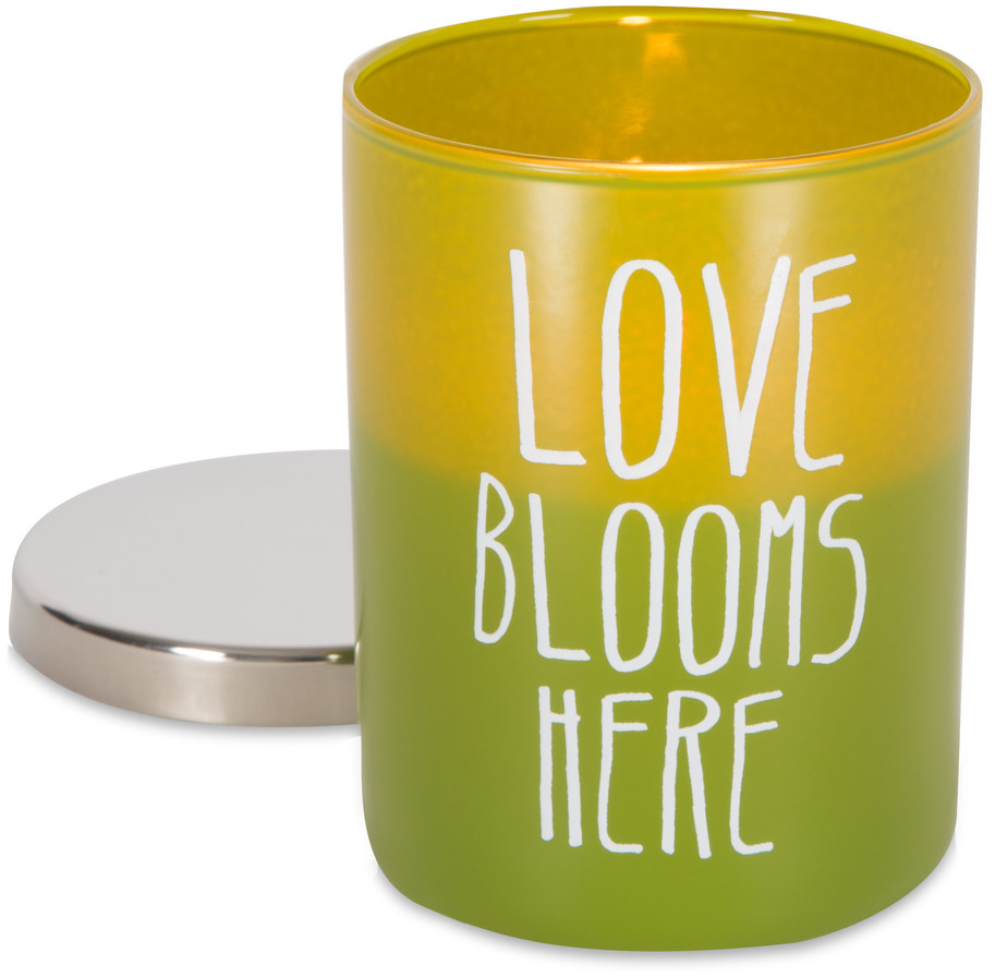 Bloom by Bless My Bloomers - Bloom - 7oz 100% Soy Wax Candle Scent: Citrus Flower