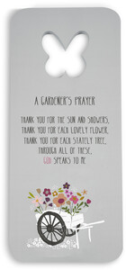 "Gardener's Prayer by Bless My Bloomers - 7"" x 16"" Foam Kneeling Pad"