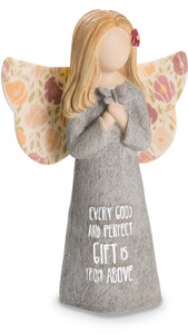 "Gift by Bless My Bloomers - 5"" Child Angel Figurine"