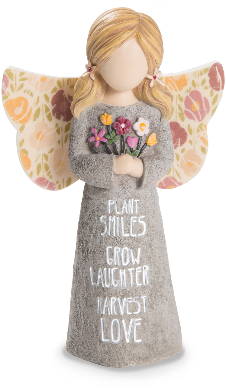 "Harvest Love by Bless My Bloomers - Harvest Love - 5"" Child Angel Figurine"