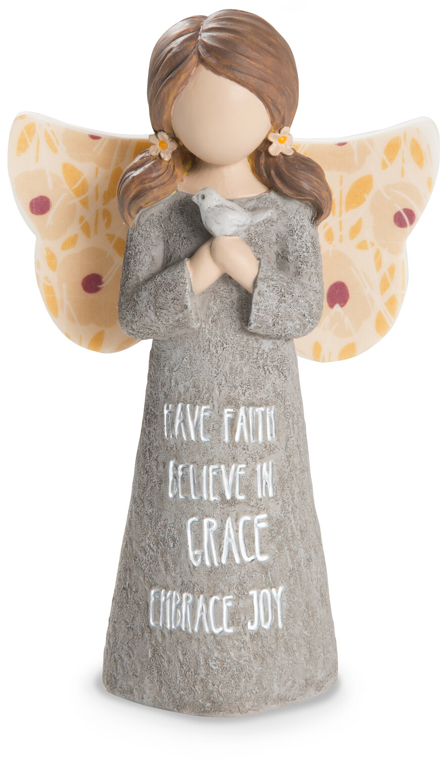 "Faith by Bless My Bloomers - Faith - 5"" Child Angel Figurine"