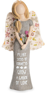 "Kindness by Bless My Bloomers - 7.5"" Adult Angel Figurine"