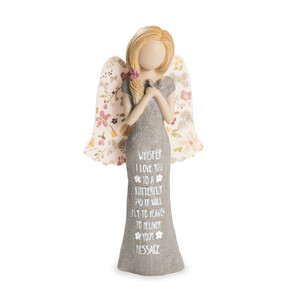"Heaven by Bless My Bloomers - 7.5"" Adult Angel Figurine"
