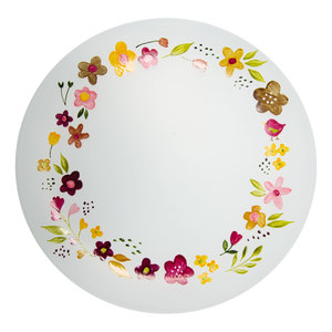 Floral Wreath by Bless My Bloomers - Candle Tray