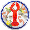 Lobster Feast by Fusion Art Glass -